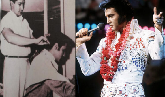 Jar of Elvis Presley's hair auctioned for $72,500