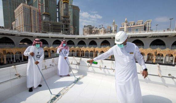 Kaaba's roof cleaned in record 20 minutes